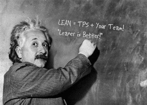 LEAN equals TPS